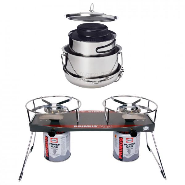 Primus - Keitinsetti - Njord Duo Stove - Gourmet De Luxe Set