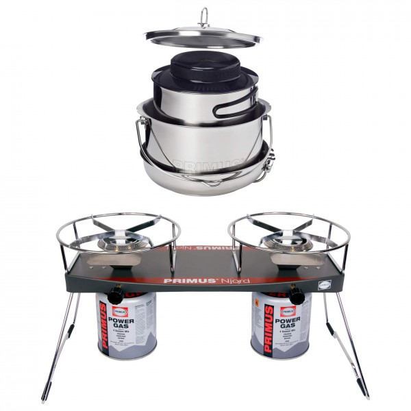 Primus - Kookstel - Njord Duo Stove - Gourmet De Luxe Set