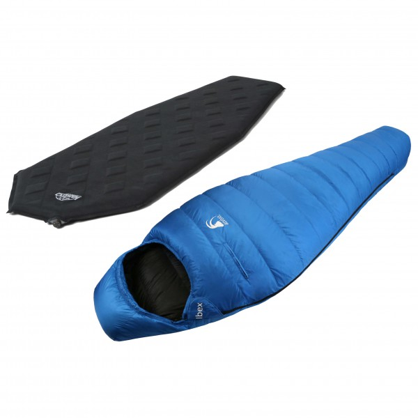 Alvivo - Schlafsack-Set - Ibex - Sleep Diamond Mumie - Down sleeping bag