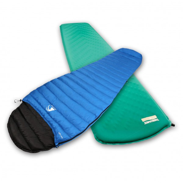 Alvivo - Sleeping bag set - Ibex light - Trail Lite P. Class