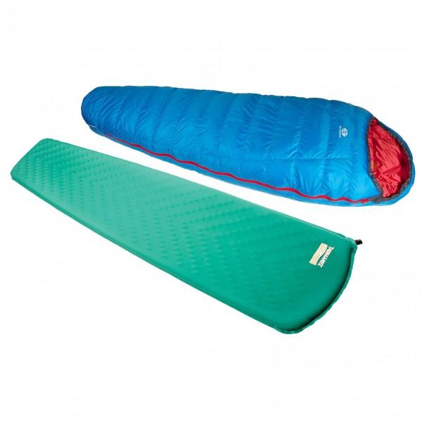 Sir Joseph - Schlafsack-Set - Rimo II 500 - Trail Lite P.Cl - Down sleeping bag
