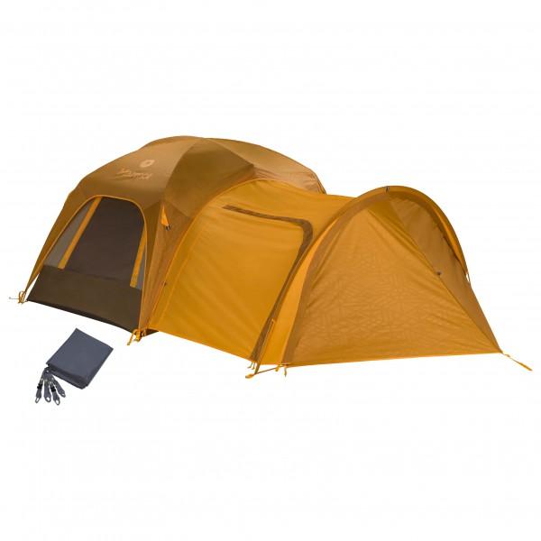 Marmot - Zelt-Set- Colfax 3P - mit Porch & Footprint - 3-man tent