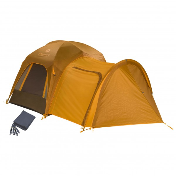 Marmot - Zelt-Set- Colfax 4P - with porch & footprint