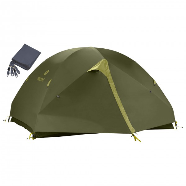 Marmot - Zelt-Set- Vapor 3P - Footprint - 3 henkilön teltta