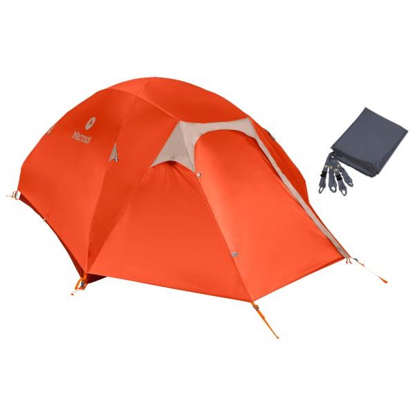 Marmot - Zelt-Set- Vapor 4P - Footprint - 4-personers telt