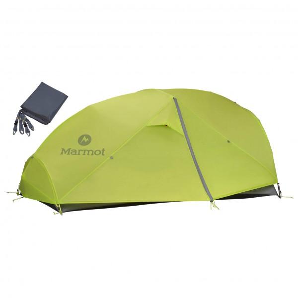 Marmot - Zelt-Set- Force 2P - Footprint - 2 henkilön teltta