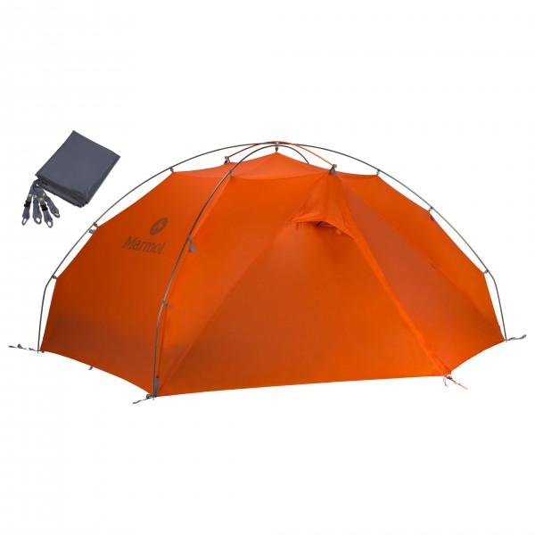 Marmot - Zelt-Set- Miwok 2P - Footprint - 2 henkilön teltta