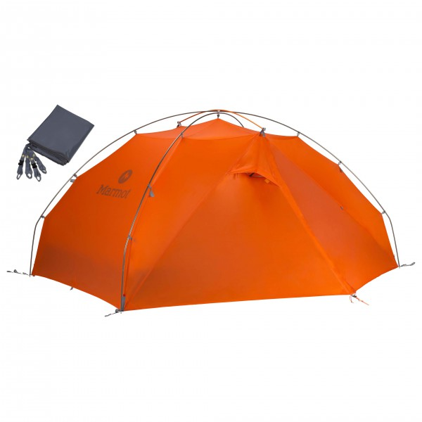 Marmot - Zelt-Set- Miwok 3P - Footprint - 3-man tent