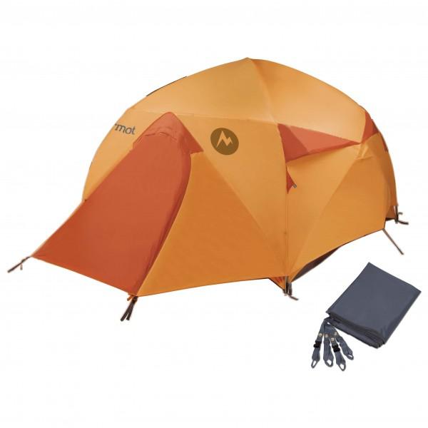 Marmot - Zelt-Set- Halo 4P - Footprint - 4-personen-tent