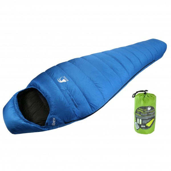 Alvivo - Pack sac de couchage - Ibex - Static V9