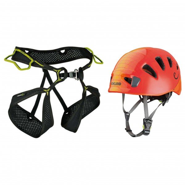 Edelrid - Kletterhelm - Climbing harness set Alpine