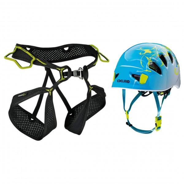 Edelrid - Kletterhelm - Climbing harness set Alpine Light Wo