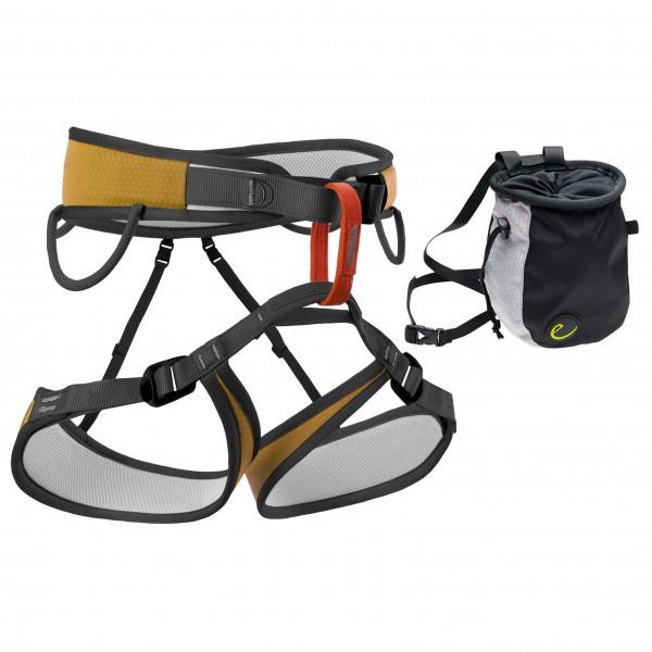Bergfreunde.de - Klettergurt - Chalk Bag Set Starter 2 - Set de escalada