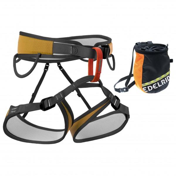 Bergfreunde.de - Klettergurt - Chalk Bag Set Starter 3 - Klätterset