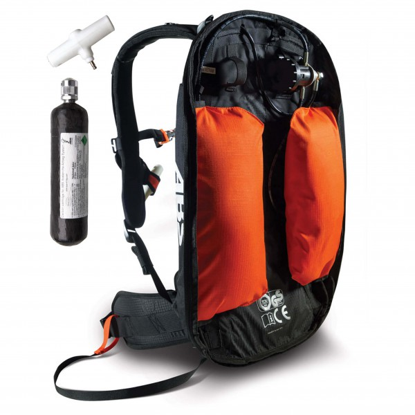 ABS - Lawinenrucksack-Set Base-Unit Carbon Ortovox