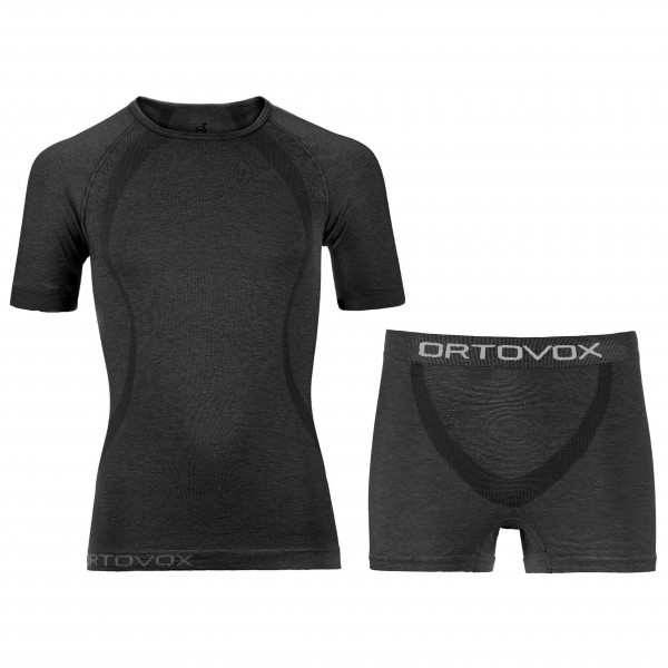 Ortovox - Unterwäsche-Set - Merino Competition Shirt & Boxer - Underkläder merinoull
