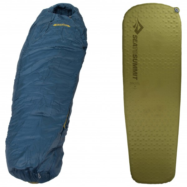 Mammut - Schlafsack-Set - Nordic SE 3- Season - Camp Mat - Synthetic sleeping bag