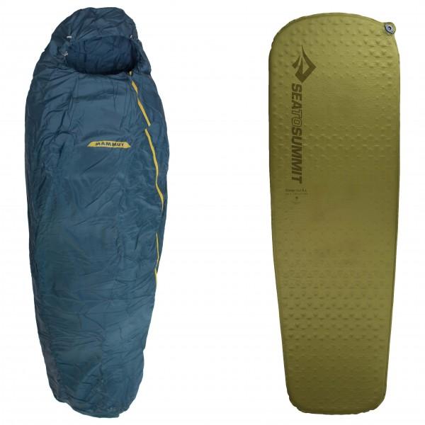 Mammut - Schlafsack-Set - Nordic SE Spring - Camp Mat - Syntetsovsäck