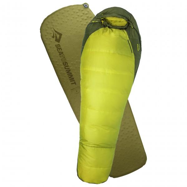 Marmot - Schlafsack-Set - Trestless Elite 30 - Camp Mat - Syntetisk fibersovepose
