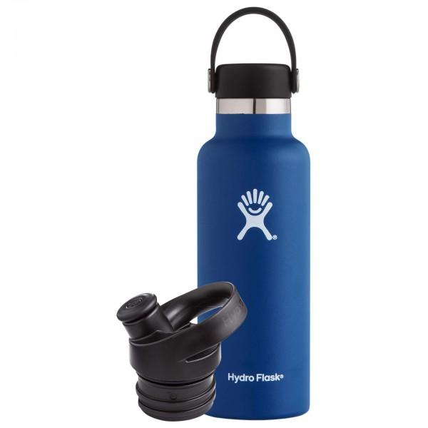 Hydro Flask - Trinkflaschen-Set - Standard Mouth - Sport Cap - Isoleringsflaske
