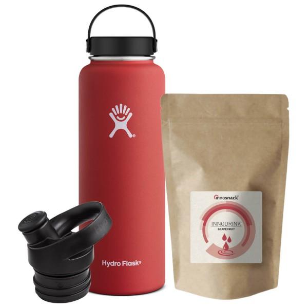 Hydro Flask - Trinkflaschen-Set - Standard Mouth - Innodrink - Isolierflasche
