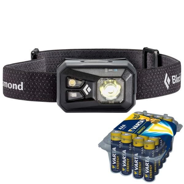 Black Diamond - Stirnlampen-Set - ReVolt - Energy AAA 24er - Stirnlampe