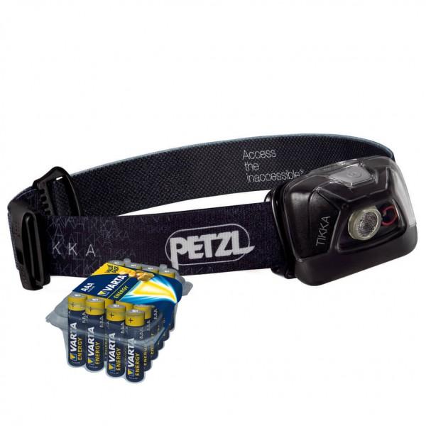 Petzl - Stirnlampen-Set - Tikka - Energy AAA 24er - Stirnlampe