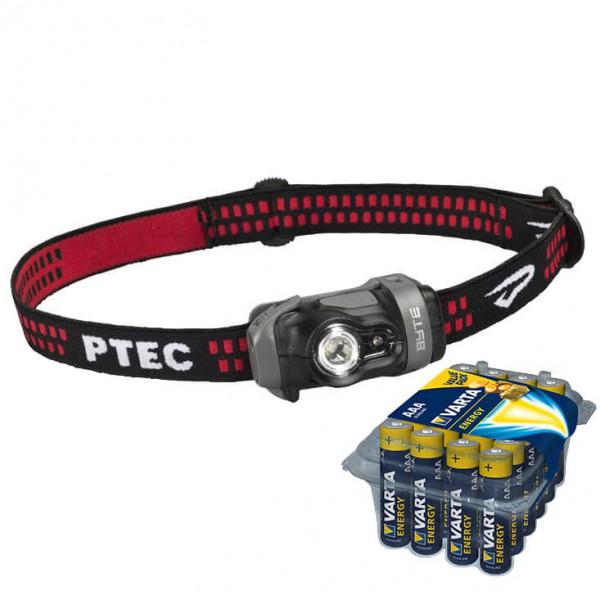 Princeton Tec - Stirnlampen-Set - Byte 70 - Energy AAA 24er - Hoofdlamp