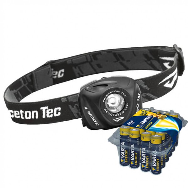 Princeton Tec - Stirnlampen-Set - Eos - Energy AAA 24er - Hodelykt