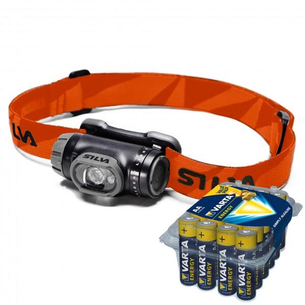 Silva - Stirnlampen-Set - Explore - Energy AA 24er - Hoofdlamp