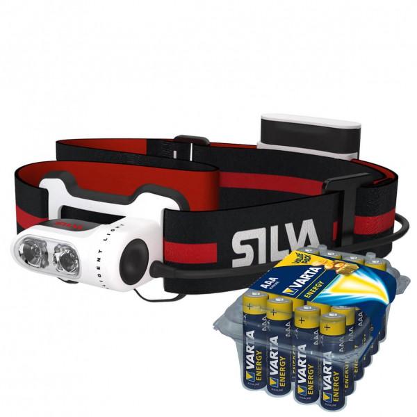 Silva - Stirnlampen-Set - Trailrunner 2 - Energy AAA 24er - Head torch
