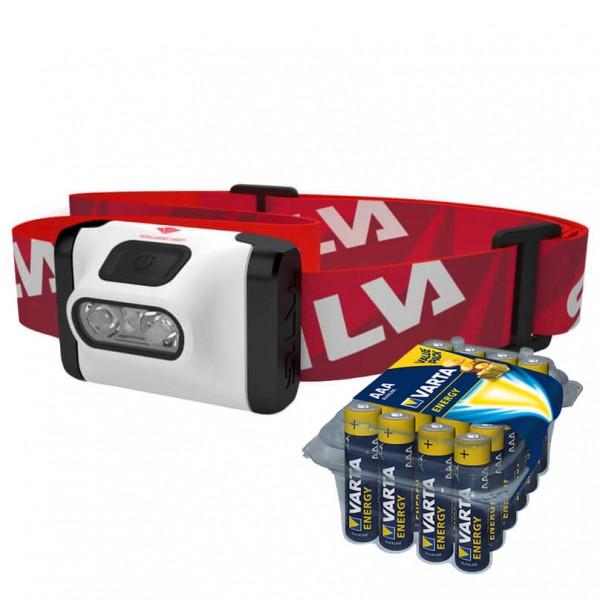 Silva - Stirnlampen-Set - Active - Energy AAA 24er - Hoofdlamp