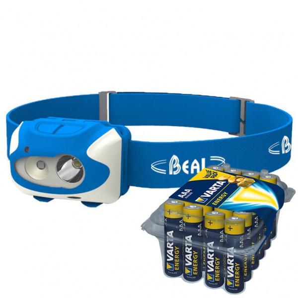 Beal - Stirnlampen-Set - FF 150 - Energy AAA 24er - Pannlampa