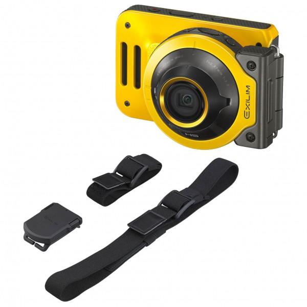 Casio - Kamera - Set Exilim EX-FR-100 - Multi Angle Belt - Kamera