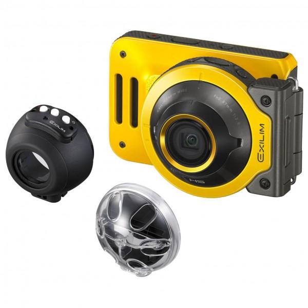 Casio - Kamera - Set Exilim EX-FR-100 - Water Proof Case - Kamera
