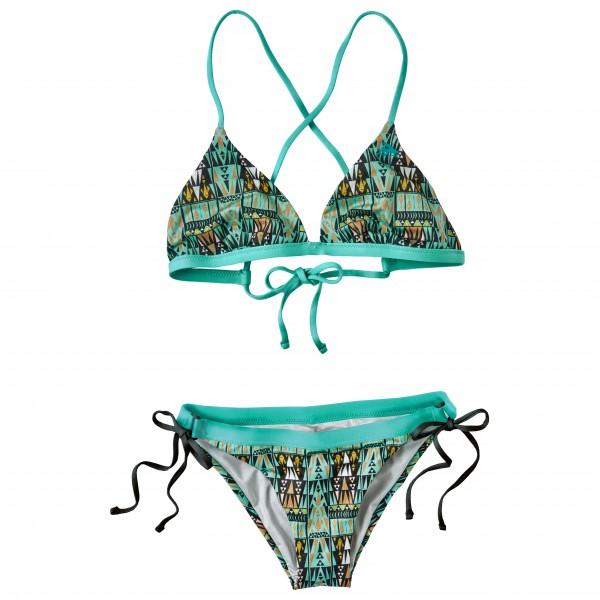 Patagonia - Bikini-Set - Nanogrip Triangle & Side Tie Print - Bikini