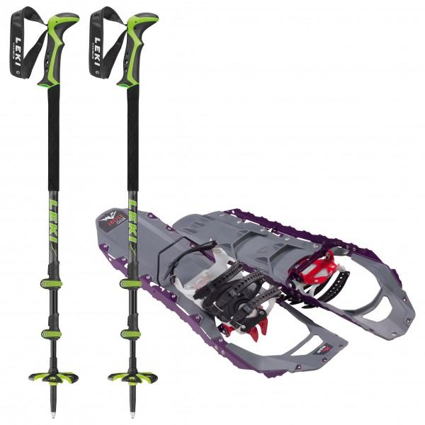 MSR - Revo Ascent W - Civetta Pro - Snowshoes set