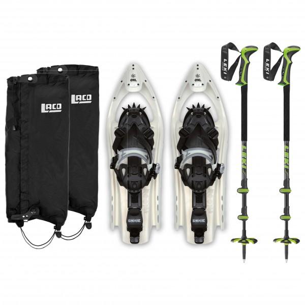 Inook - OXL - Civetta Pro & Gaiter UL - Kit de raquettes à neige