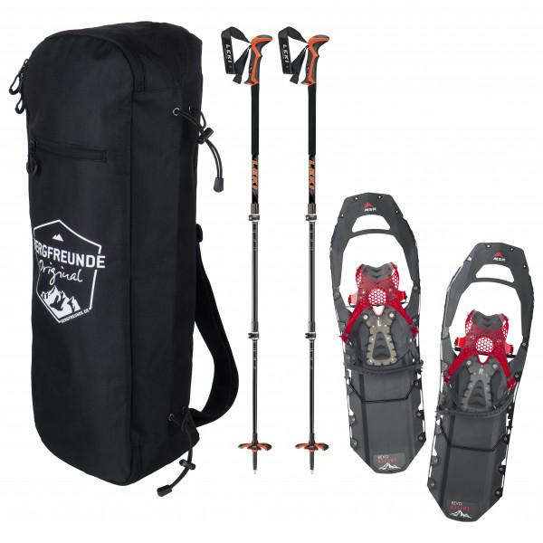 Bergfreunde.de - MSR Revo Ascent M Leki Civetta Pro Schuhtasche - Set de raquetas de nieve