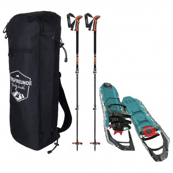 Bergfreunde.de - MSR Revo Ascent W Leki Civetta Pro Schuhtasche - Snowshoes set