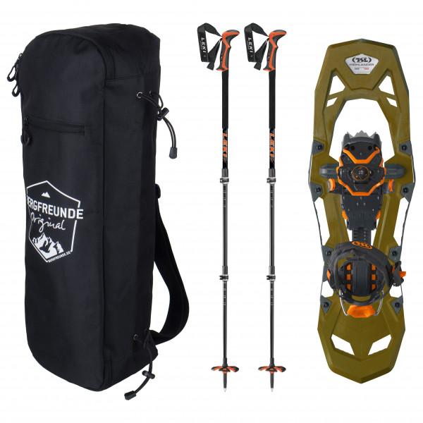 Bergfreunde.de - TSL Highlander Adjust Leki Civetta Pro Schuhtasche - Schneeschuhset