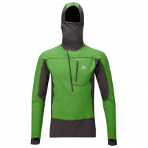 Mountain Equipment - Eclipse Hooded Zip Tee - Fleecepullover