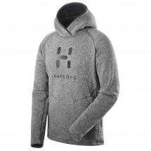 Haglöfs - Swook Logo Hood - Fleecepulloveri