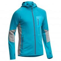 Icebreaker - Atom LS Zip Hood - Wool jacket