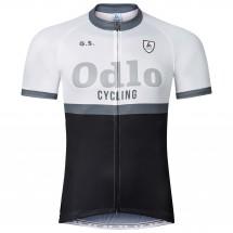 Odlo - Stand-Up Collar S/S Full Zip Ride - Pyöräilypusero