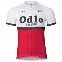 Odlo - Stand-Up Collar S/S Full Zip Ride - Cycling jersey