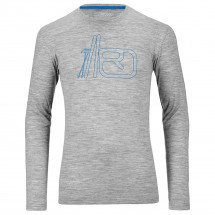 Ortovox - Merino 185 Long Sleeve Print - Merino sweater