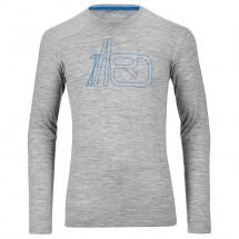Ortovox - Merino 185 Long Sleeve Print