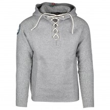 Amundsen - Boiled Hoodie Laced - Pull-over en laine mérinos