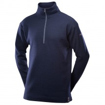 Devold - Blaatröie Sweater Zip Neck - Merino trui